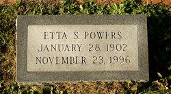 Etta <i>Sterling</i> Powers