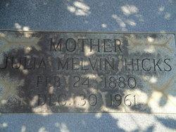 Julia Melvin Hicks