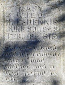 Mary Polly <i>Hearne</i> Dennis