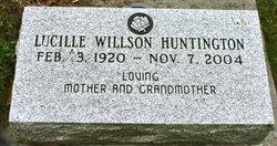 Lucille <i>Willson</i> Huntington