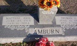 Emma Maudine <i>Pate</i> Amburn