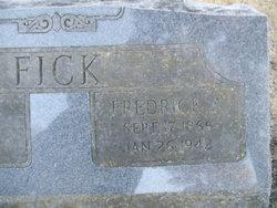 Fredrick Adelbert Fick