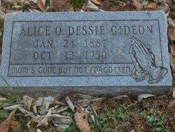 Alice O. Dessie Gideon