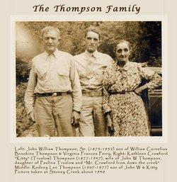Kathleen Crawford Kate or Kitty <i>Truslow</i> Thompson