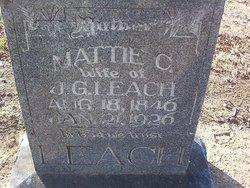 Martha Capers Mattie <i>Shirley</i> Leach