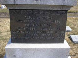 Henrietta Alice Etta <i>Farris</i> Dobbins