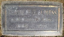Gertrude Elvira Gertie <i>Gardner</i> Burgess
