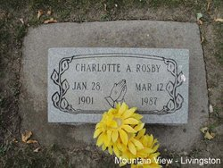 Charlotte A Rosby