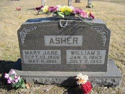 Mary Jane <i>Foster</i> Asher