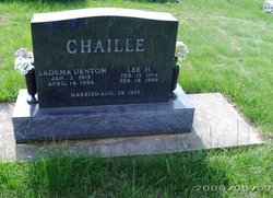Ladema <i>Denton</i> Chaille