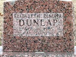 Elizabeth Elmina Dunlap