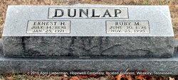 Ernest H Dunlap