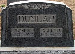Irene A <i>Horton</i> Dunlap