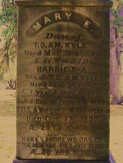 Ida J <i>Kyle</i> Cleaveland