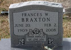 Frances W Baby Braxton