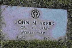 John M Akers