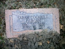 Sarah <i>Cockrell</i> Dargan