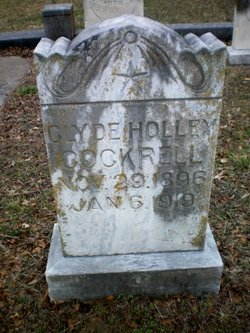 Clyde <i>Holley</i> Cockrell