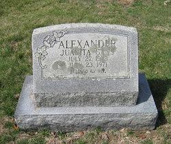 Juanita <i>Gans</i> Alexander