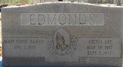 Mary Clyde <i>Hamill</i> Edmonds