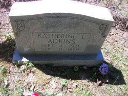 Katherine L Adkins