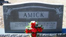 Peggie <i>McCraw</i> Amick