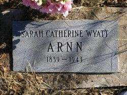Sarah Catherine <i>Wyatt</i> Arnn
