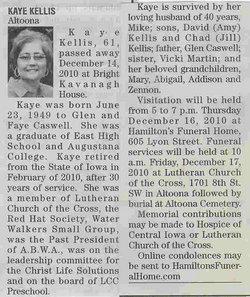 Kaye N. <i>Caswell</i> Kellis