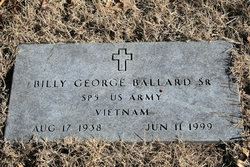 Billy George Ballard, Sr
