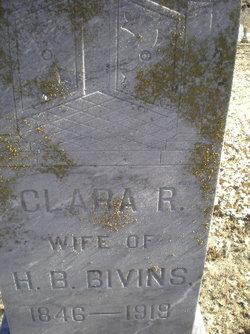 Clara Rebecca <i>Brewer</i> Bivins