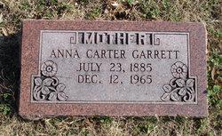 Anna Bell <i>Ogles )Carter)</i> Garrett