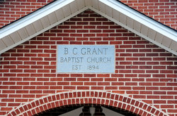 B C Grant Baptist Church Cemetery