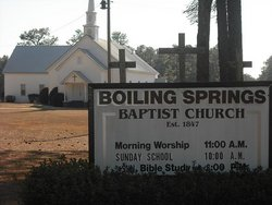 Boiling Springs Baptist Church Cemetery
