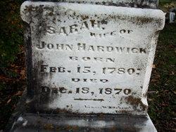 Sarah <i>Gulley</i> Hardwick