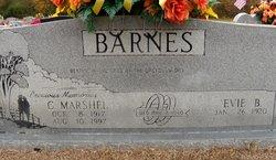 Charley Marshel Barnes
