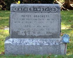 Elizabeth J. Lizzie <i>Merrill</i> Brackett