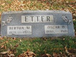 Bertha May Etter