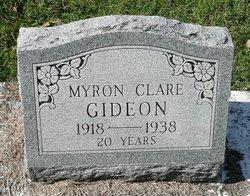 Myron Clare Gideon
