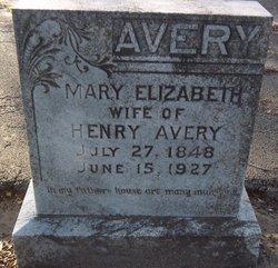 Mary Elizabeth Betty <i>Gardner</i> Avery
