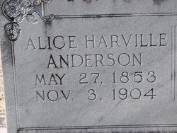 Elva Alice <i>Harville</i> Anderson