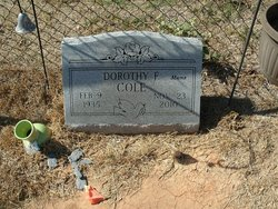 Dorothy Fay <i>Watson</i> Cole