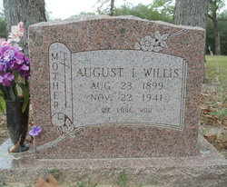 August Isabella Isabell <i>Taylor</i> Willis