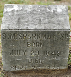 Stephen Milancthon Sparkman
