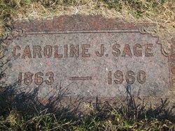 Caroline Jackson <i>Lowe</i> Sage