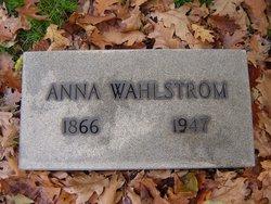 Anna Josephine <i>Ogren</i> Wahlstrom