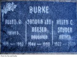 Helen <i>Snyder</i> Burke