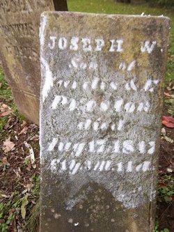 Joseph W Preston