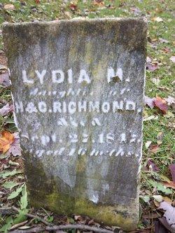 Lydia M Richmond