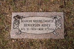 Blanche <i>Killingsworth</i> Abney