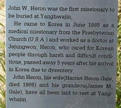 Dr John W. Heron